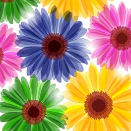 Blumen zeichnen Hintergrund