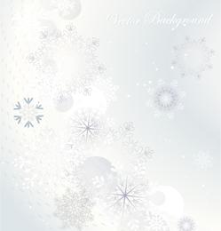 Fundo de floco de neve 4