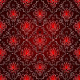 Patrón de fondo rojo 2