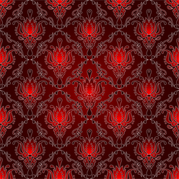 Red Background Pattern 2