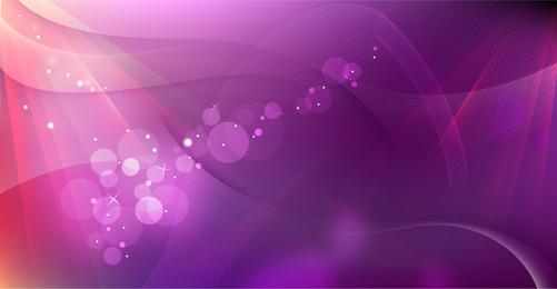 Wavy Purple Background