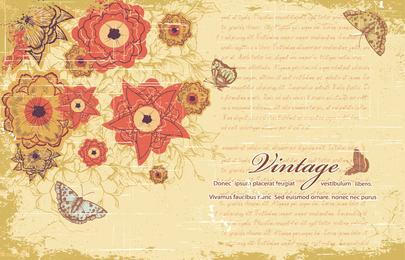 Retro Pattern Background 6