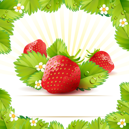 Strawberry Theme Background 2