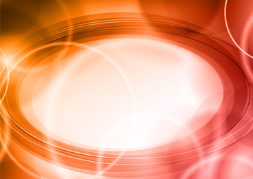 Orange red circle abstract backdrop