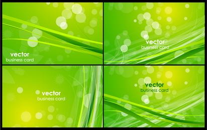 4 nature design business cards