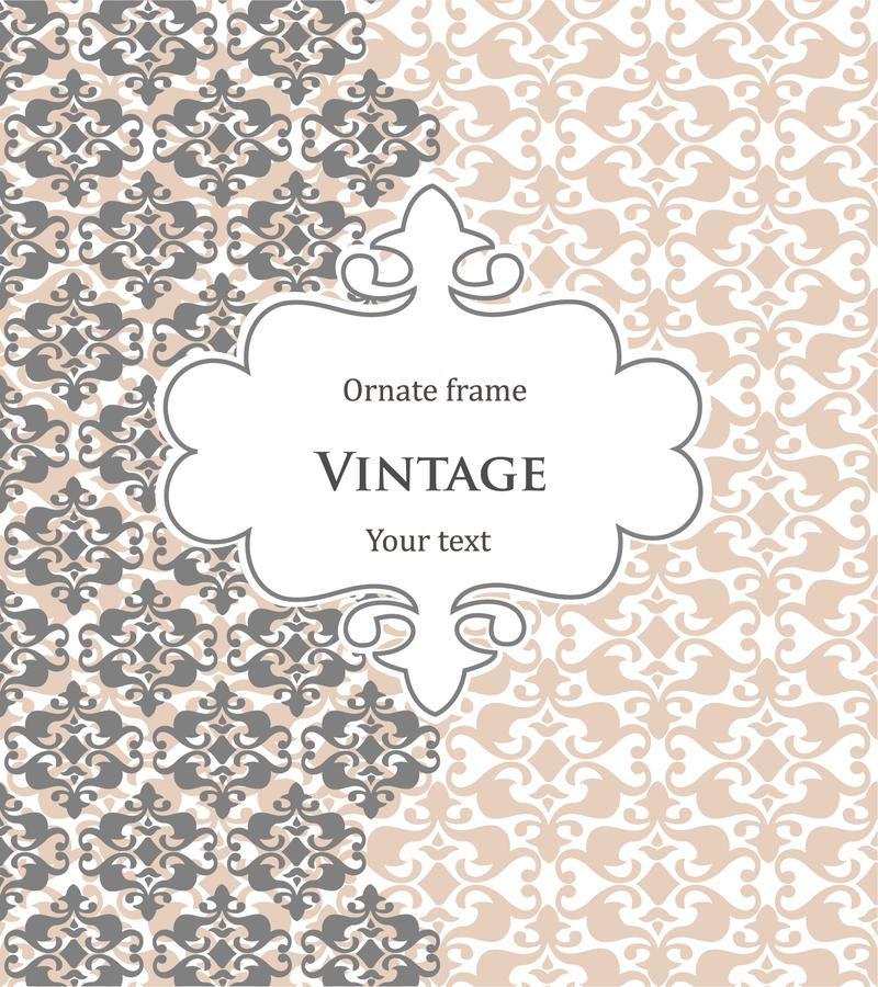 Vintage Frame Background Design Download Large Image 800x900px