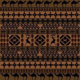 Patrón tradicional africano