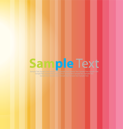 Bright Stripe Vector