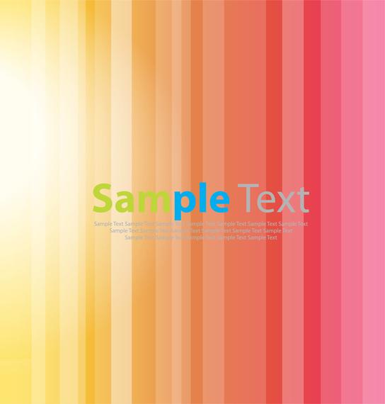 Bright Stripe Vector