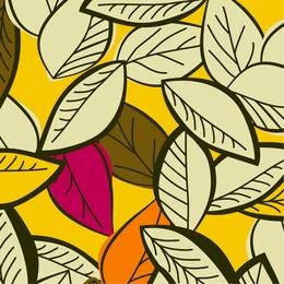 Hand-drawn leaves illustration