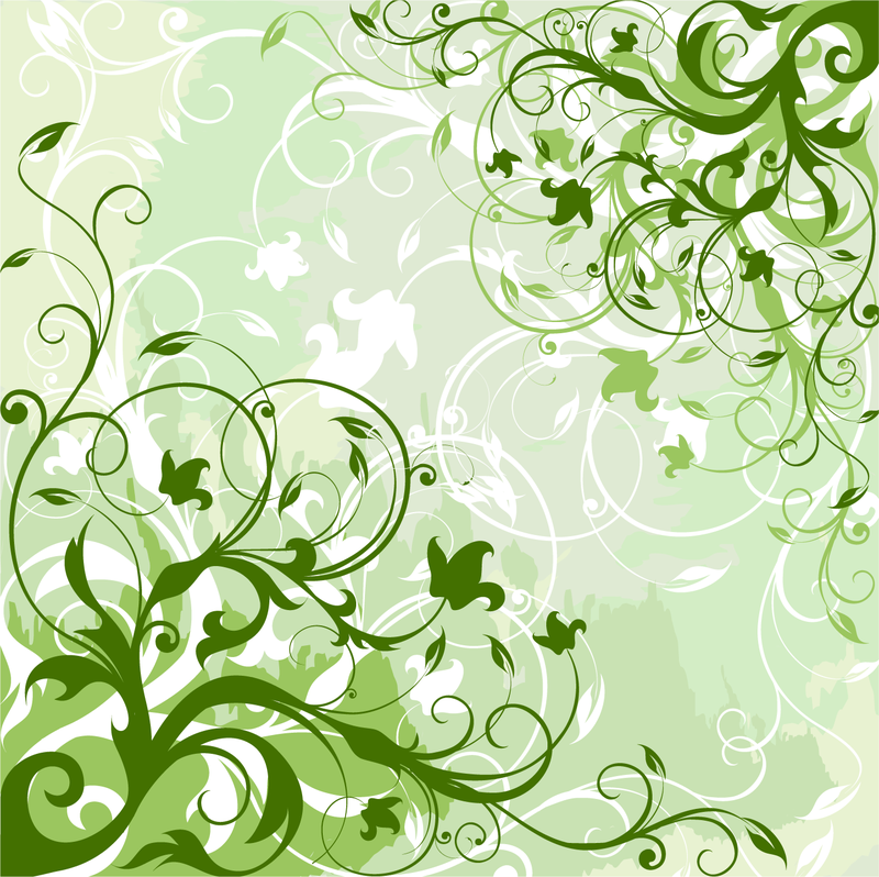 Green swirls background design - Vector download Green And White Swirl Backgrounds