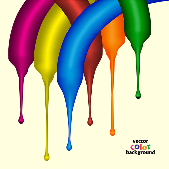 3d paint drip