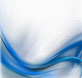 Design ondulado azul abstrato