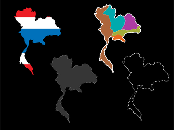State Map Background