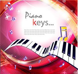 Gorgeous Piano Key 3