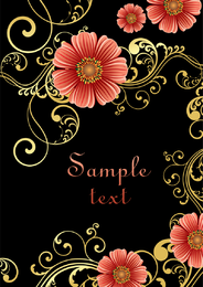 Fashion Floral Background 3