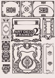 Europäische Art Deco Frames