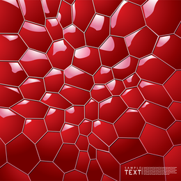 3D Honeycomb Background