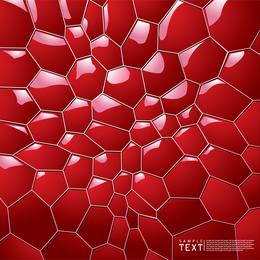 Hintergrund der Bienenwabe 3D