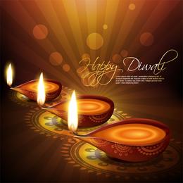Exquisito fondo de Diwali 3