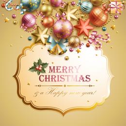 Christmas Elements Background 3