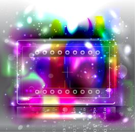Fundo de tira de filme colorido
