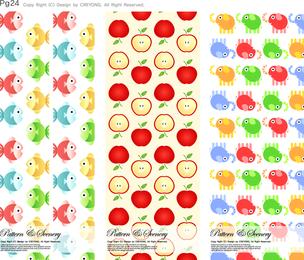Conjunto de patrones misc ilustrados