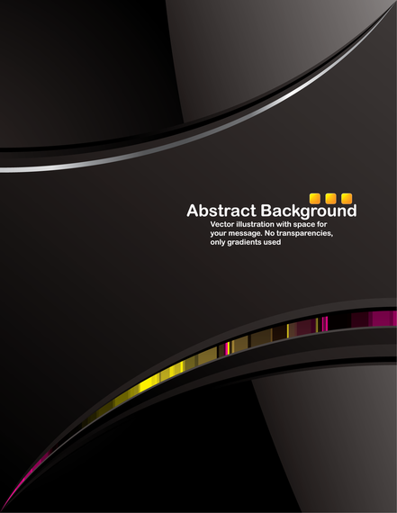 Dark Abstract Background With Shapes Vector Download
