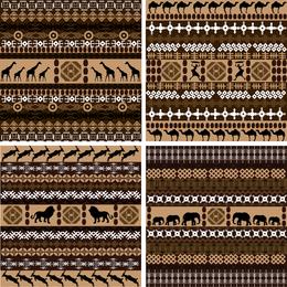 Afrikanischer traditioneller Hintergrund
