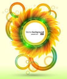 Brilliant Petals Background 3