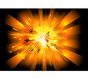 Explosive Style Vector