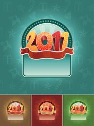Gráficos de fundo de Natal