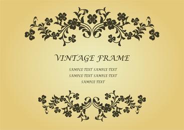 Diseño de certificado de marco vintage