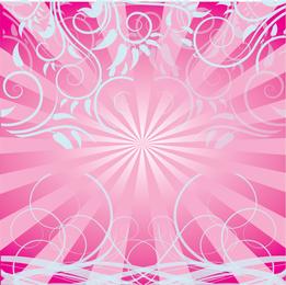 Remolinos de color rosa gratis