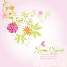 Fundo de flor de primavera