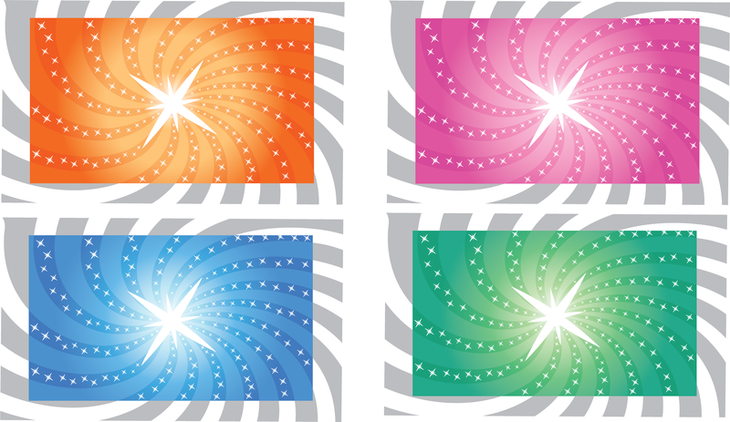 Vector Sunbeam Backgrounds