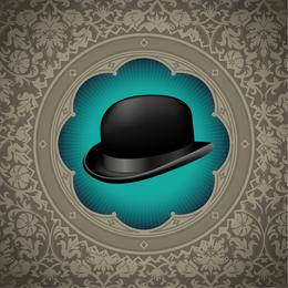 Gentleman Hat Background