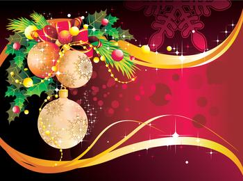 Christmas Decoration Background 4