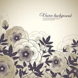 Eleganter Blumenhintergrund 4