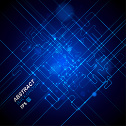 Dynamischer technologischer Hintergrund 3