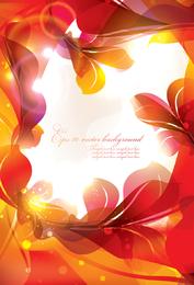 Glühen Sie hell Blumen 3