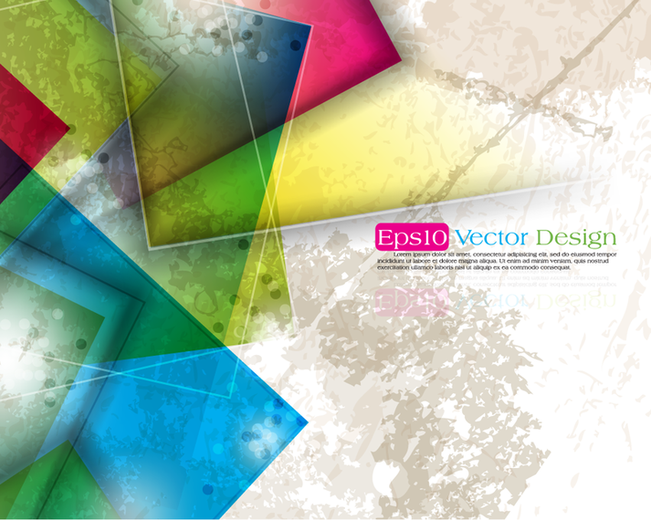 Colorful grunge abstract backdrop