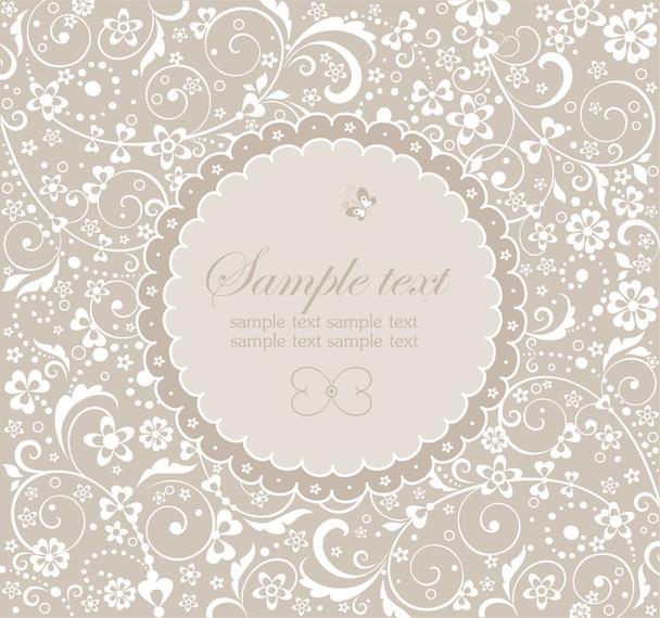 wedding label design with swirls vector download