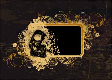 Skeleton Pattern Background