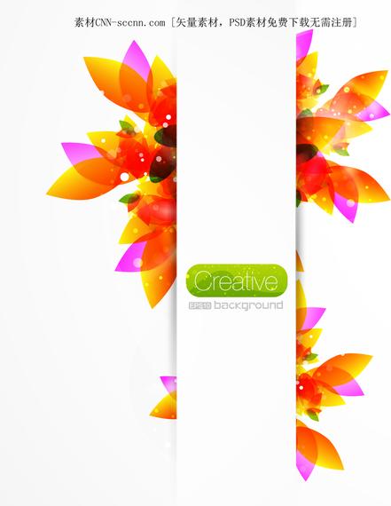 Fundo Floral Criativo 3