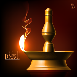 Exquisite Diwali Background 4