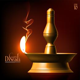 Exquisite Diwali Background 4