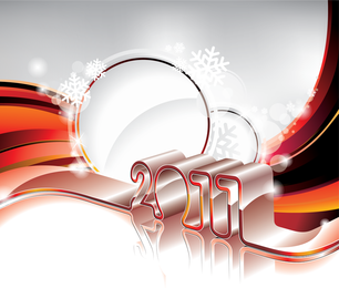 2011 New Year backdrop