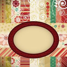 Patchwork Pattern Background 3