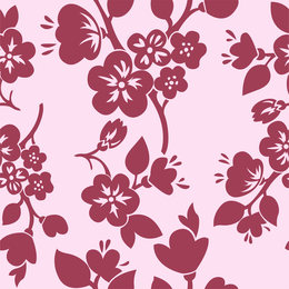 Red Pattern Background 3